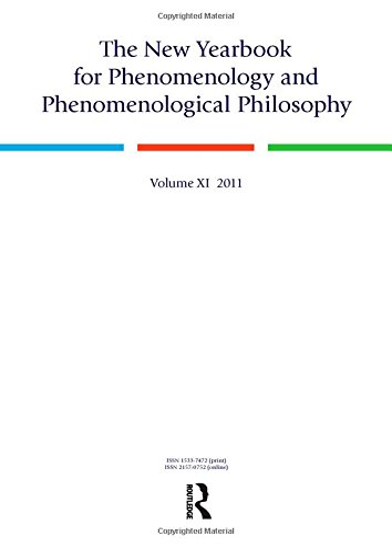 The New Yearbook for Phenomenology and Phenomenological Philosophy: Volume 11: Hopkins, Burt; ...