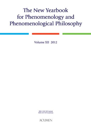 9781844655410: The New Yearbook for Phenomenology and Phenomenological Philosophy: Volume 12