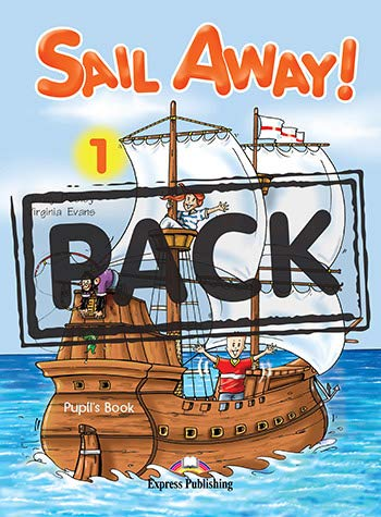 Sail Away 1 Pupils Pack (1844661725) by Virginia Evans; Jenny Dooley