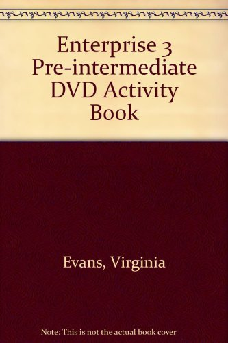 9781844661978: Enterprise 3 Pre-intermediate DVD Activity Book