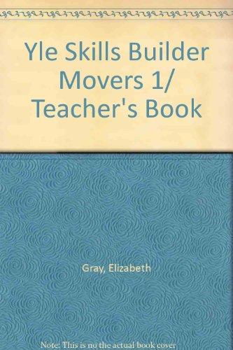 9781844663729: Yle Skills Builder Movers 1/ Teacher's Book