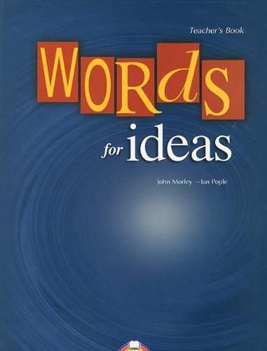 9781844668410: WORDS FOR IDEAS PROF