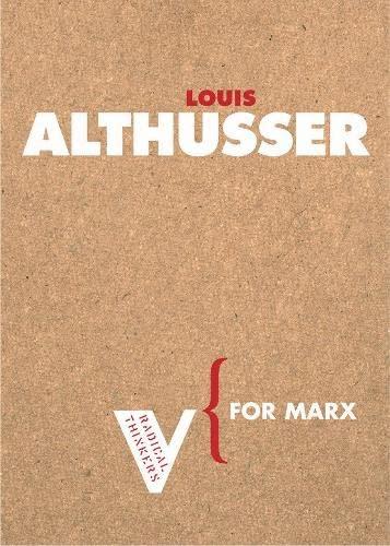 9781844670529: For Marx (Radical Thinkers)