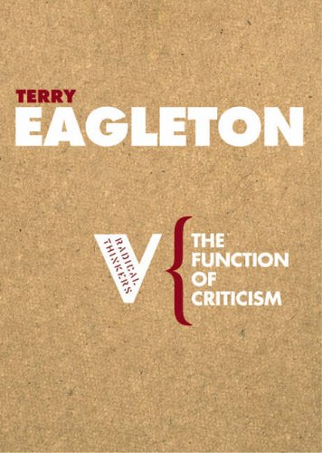 9781844670550: The Function of Criticism (Radical Thinkers)