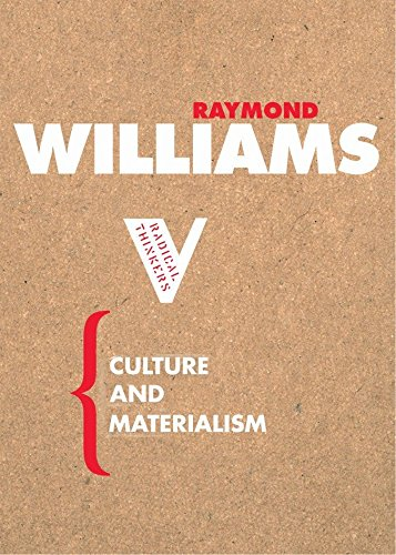 9781844670604: Culture and Materialism (Radical Thinkers)