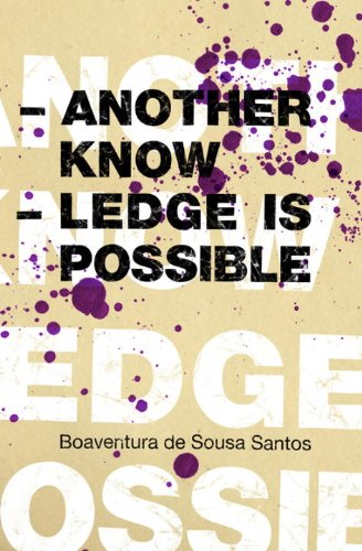 9781844671175: Another Knowledge is Possible (Reinventing Social Emancipation: Toward New Manifestos)