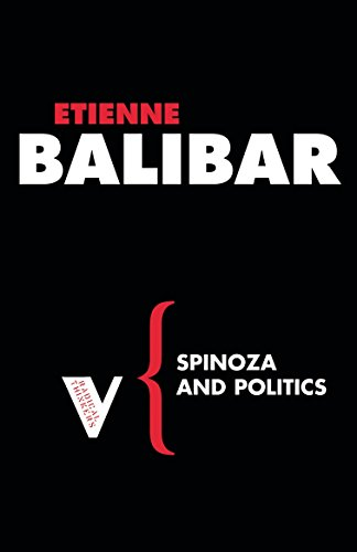 9781844672059: Spinoza and Politics (Radical Thinkers)