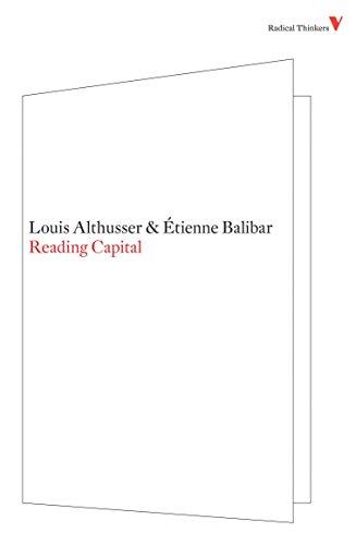 9781844673476: Reading Capital (Radical Thinkers)