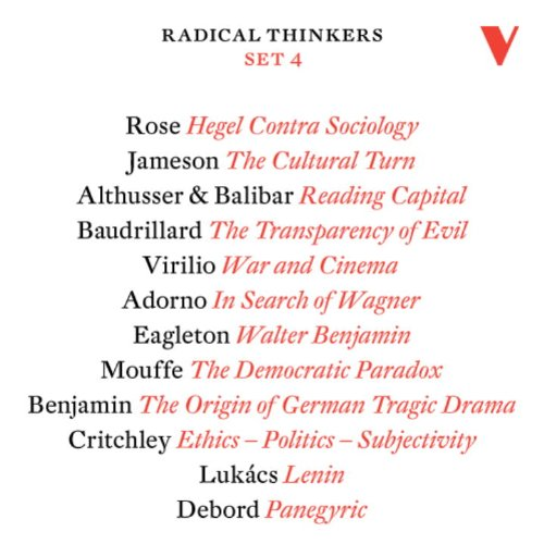 9781844673926: Radical Thinkers Set 4
