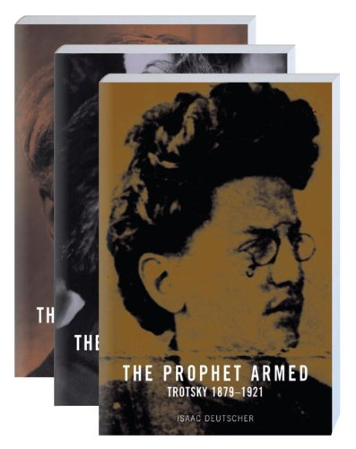 9781844673933: The Prophet: Trotsky: 1879-1940 (Vol. 1-3)