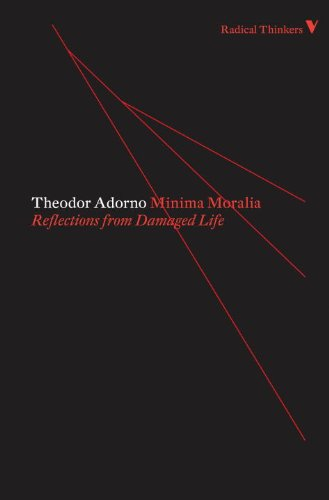 9781844676613: Minima Moralia (Radical Thinkers Classic Editions)