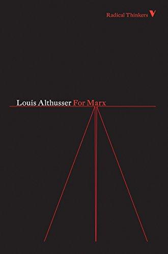 9781844676620: For Marx (Radical Thinkers Classics)
