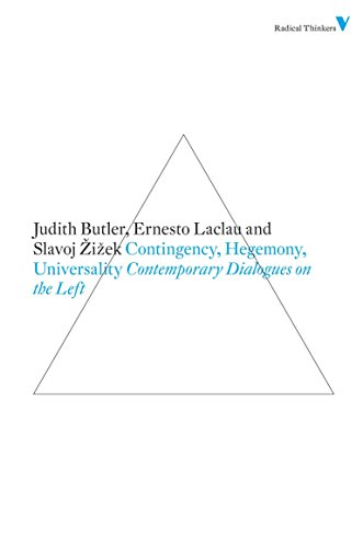 9781844676682: Contingency, Hegemony, Universality: Contemporary Dialogues on the Left (Radical Thinkers)