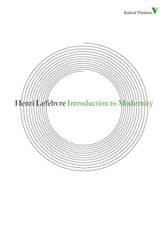 9781844677832: Introduction to Modernity (Radical Thinkers)