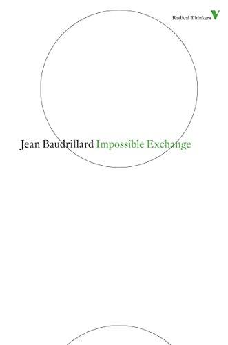 9781844677917: Impossible Exchange (Radical Thinkers)