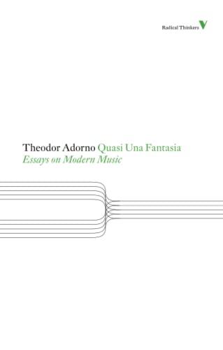 Adorno essays on modern music