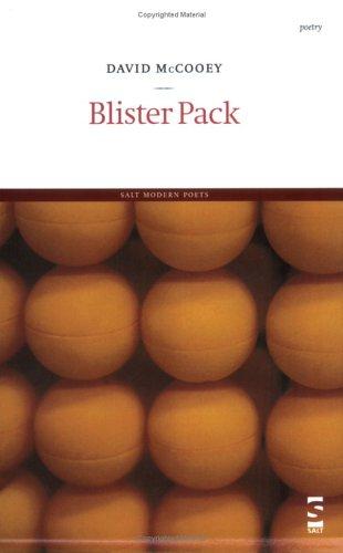 Blister Pack (Salt Modern Poets S.): McCooey, David