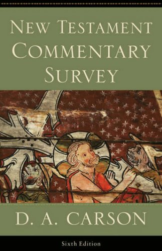 9781844741687: New Testament Commentary Survey