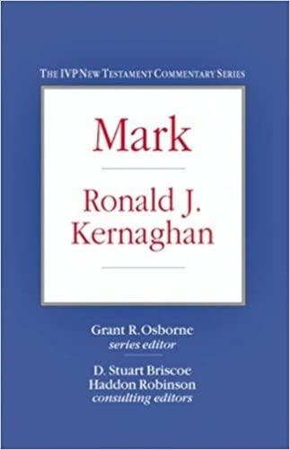 9781844741861: Mark (IVP New Testament Commentary)