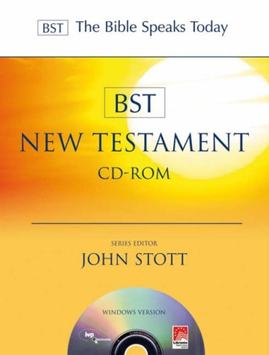9781844742417: BST New Testament (The Bible Speaks Today)