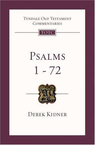 9781844742929: Psalms 1-72: An Introduction and Commentary (Tyndale Old Testament Commentaries)