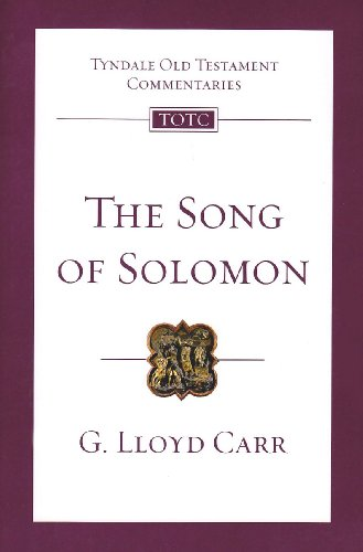 9781844743339: TOTC Song of Solomon: An Introduction and Commentary