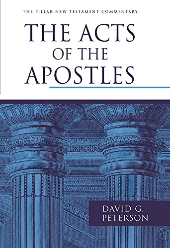 9781844743865: The Acts of the Apostles (Pillar New Testament Commentaries)