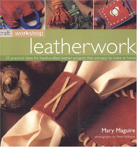 9781844760503: Leatherwork (Craft Workshop)