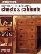 9781844760947: Furniture Care: Repairing and Restoring Chests and Cabinets