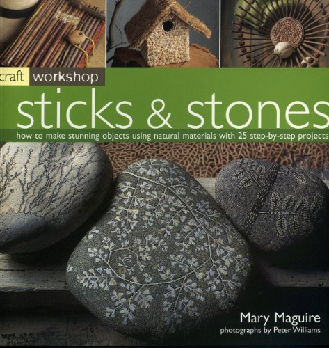 9781844761357: Craft Workshop: Sticks and Stones: How to make Stunning Objects using Natural Materials with 25 Step-by-Step Projects