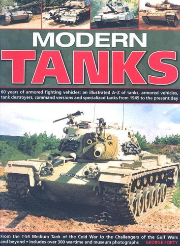 9781844763412: Modern Tanks: 60 Years of Armoured Fighting Vehicles - An Illustrated A-Z Catalogue of Tanks, Armoured Vehicles, Tank Destroyers, Command Versions and Specialized Tanks from 1945 to the Present Day