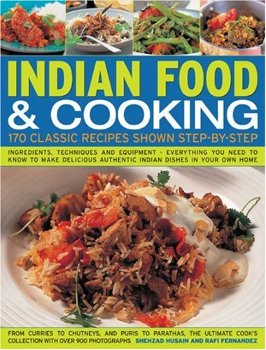 9781844763887: Indian Food and Cooking: A Step-by-step Kitchen Handbook