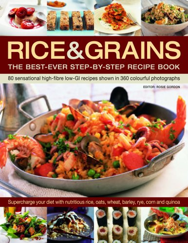 9781844764631: Rice & Grains: The Best-Ever Step-By-Step Recipe Book