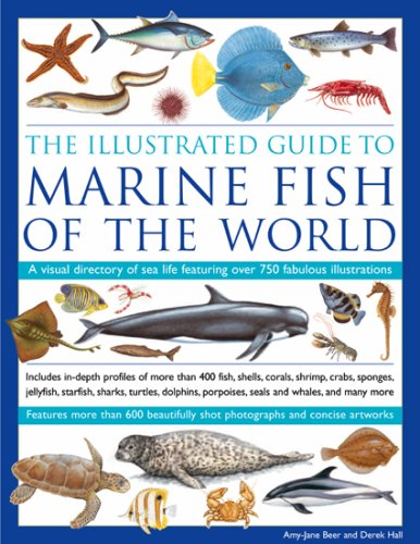 The Illustrated Guide to Marine Fish of The World: A Visual Directory of Sea Life Featuring Over 700 Fabulous Illustrations (1844765458) by Amy-Jane Beer; Derek Hall