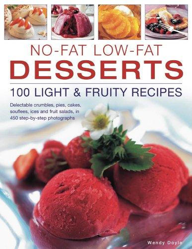 No-Fat Low-Fat Desserts: 100 Light & Fruity: Simona Hill