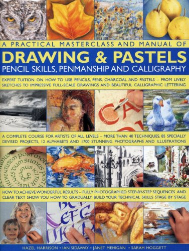 A Practical Masterclass and Manual of Drawing & Pastels, Pencil Skills, Penmanship and Calligraphy (1844769275) by Ian Sidaway; Sarah Hoggett; Janet Mehigan; Hazel Harrison