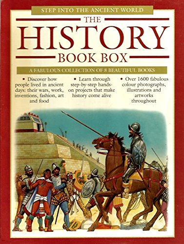 9781844777204: The History Book Box: Step Into the Ancient World (8 Books)