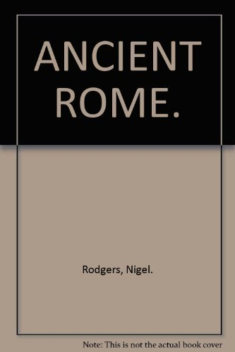 9781844778584: ANCIENT ROME.