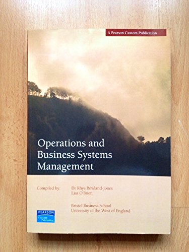 9781844794157: Operations And Business systems Management
