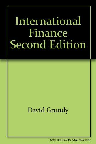 International Finance.: David Grundy and Richard Slack.