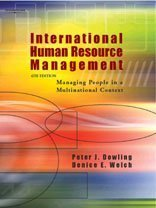 International Human Resource Management: Peter J. Dowling,