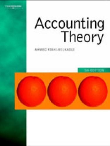 Accounting Theory: Ahmed Raihi-Belkaoui