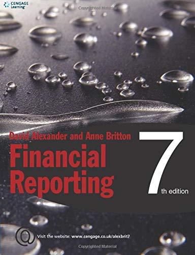 FINANCIAL REPORTING: ALEXANDER, DAVID and