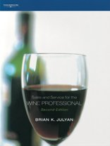 9781844800537: Sales and Service for the Wine Professional