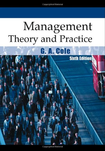 9781844800889: Management Theory and Practice