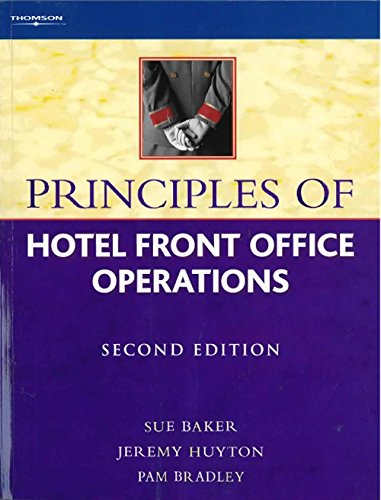 9781844800902: Principles of Hotel Front Office Operations
