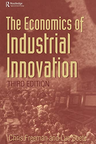 9781844800933: Economics of Industrial Innovation