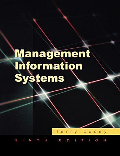 9781844801268: Management Information Systems
