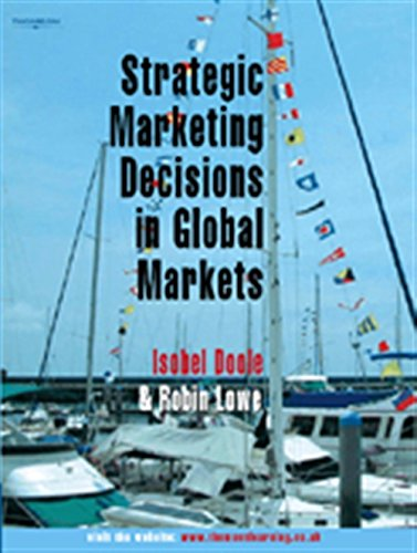 9781844801428: Strategic Marketing Decisions In Global Markets