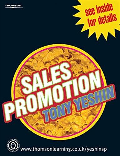 Sales Promotion: Tony Yeshin